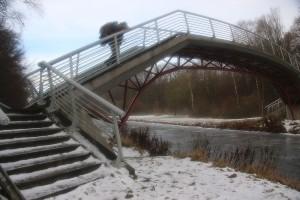 die stufen sind scheisseglatt