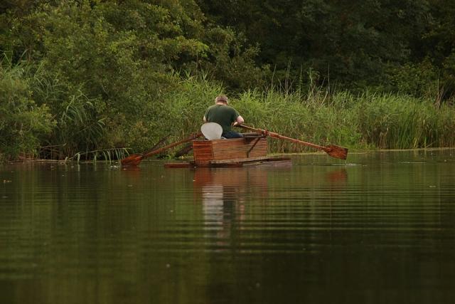Warnow, Boot, Angler