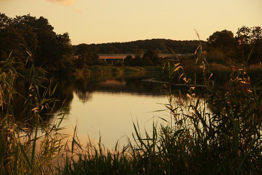 Warnow, Warnowtalbrücke, Autobahn